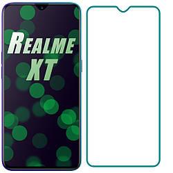 Защитное стекло Realme XT (Прозрачное 2.5 D 9H) (Реалми ХТ)