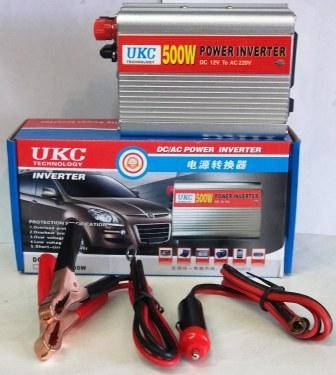 Автомобильный инвертор 24/220 UKC 500 ватт, фото 2