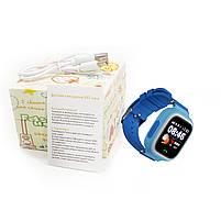 ✸Детские cмарт-часы UWatch Q90 Blue с функцией GPS\A-GPS трекера Wi-Fi сенсорный цветной экран Android IOS, фото 7