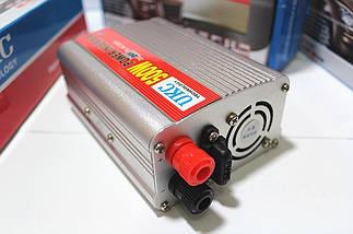 Автомобильный инвертор 24/220 UKC 500 ватт, фото 3