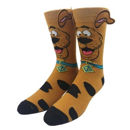 Прикольные высокие мужские носки Скуби Ду