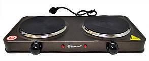 Электроплита 2 конфорки блин Domotec MS-5822