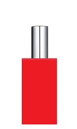 КРАСНЫЙ Флакон для парфюмерии АРТ 60 мл. с металлическим спреем