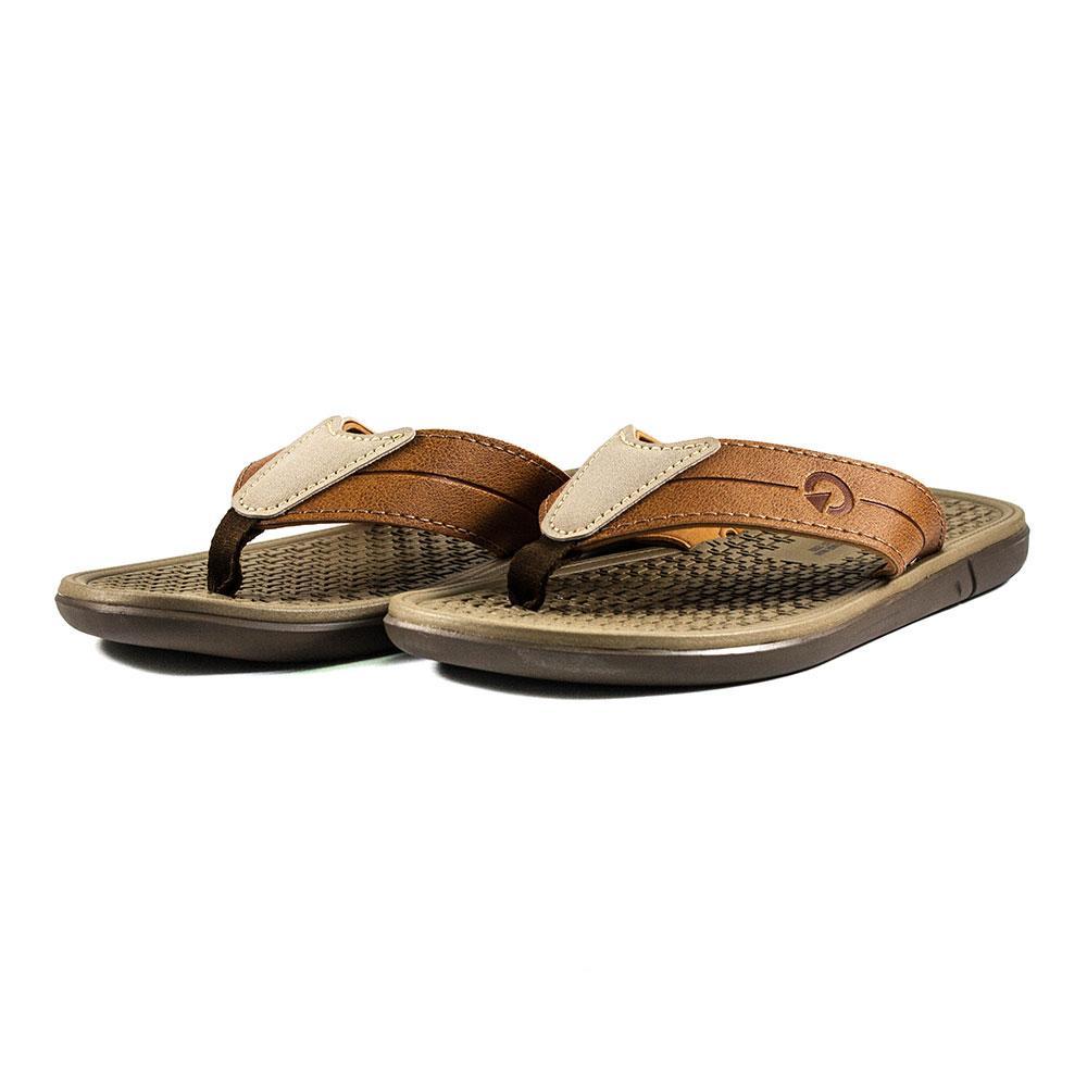 Шльопанці чоловічі Cartago коричневий 17020 (41)