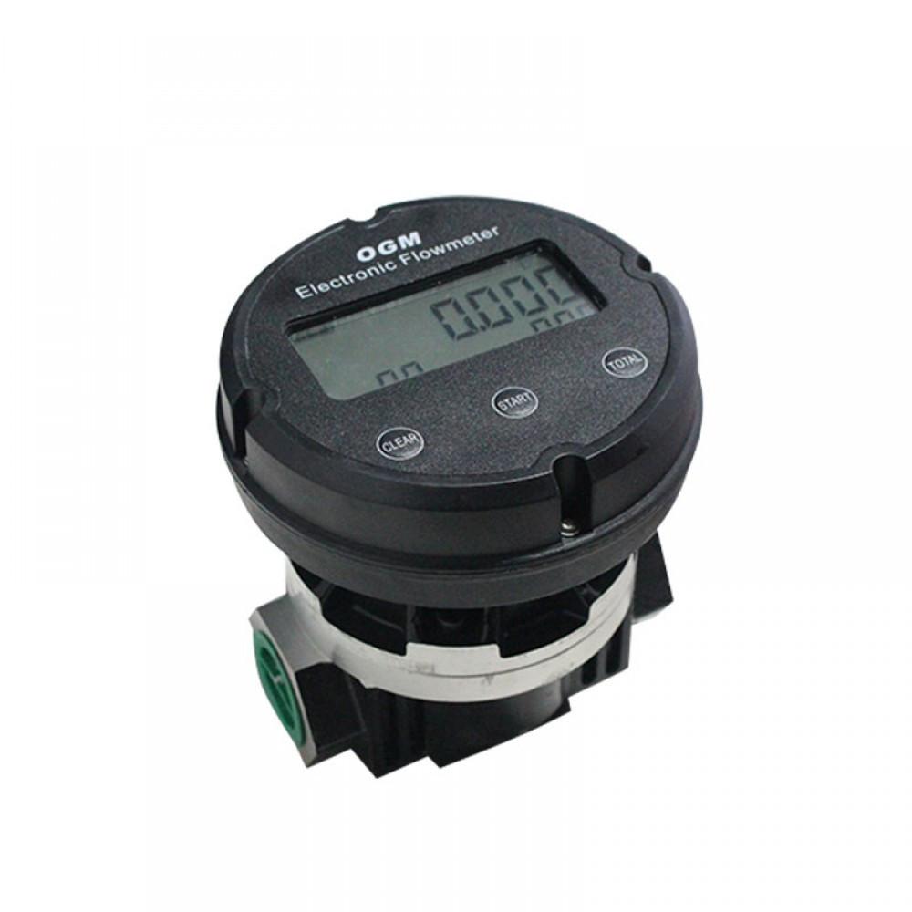 Счетчик расхода топлива электронный, 120 л/мин