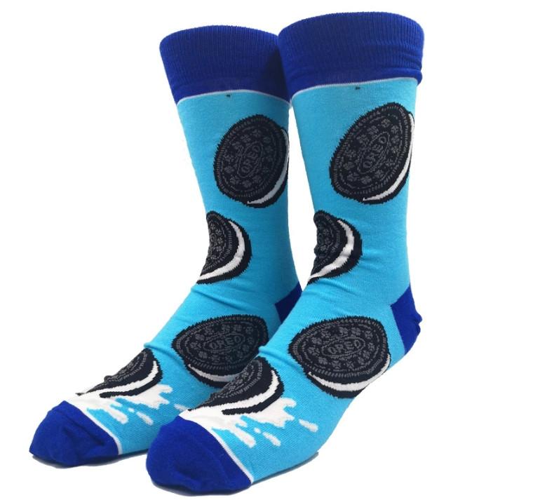 Прикольні чоловічі шкарпетки з принтом Орео