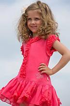 Детское платье для девочки Pezzo D'oro Италия FK52007 Коралловый