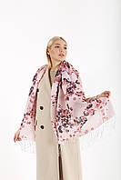 Женский шарф Джессика розовый