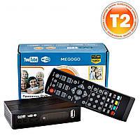 Цифровая приставка DVB-T2 Megogo Youtube Wi-Fi IPTV Тюнер Т2 Ресивер Т2 Приставка т2
