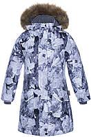 Зимняя парка MONA для девочки 6-8, 13-17  лет, р. 116-128, XS, M ТМ HUPPA 12200030-91628