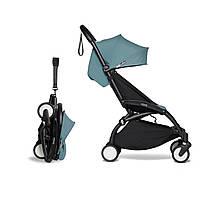 Прогулочная коляска - BABYZEN YOYO2 6+, цвет Aqua на черном шасси