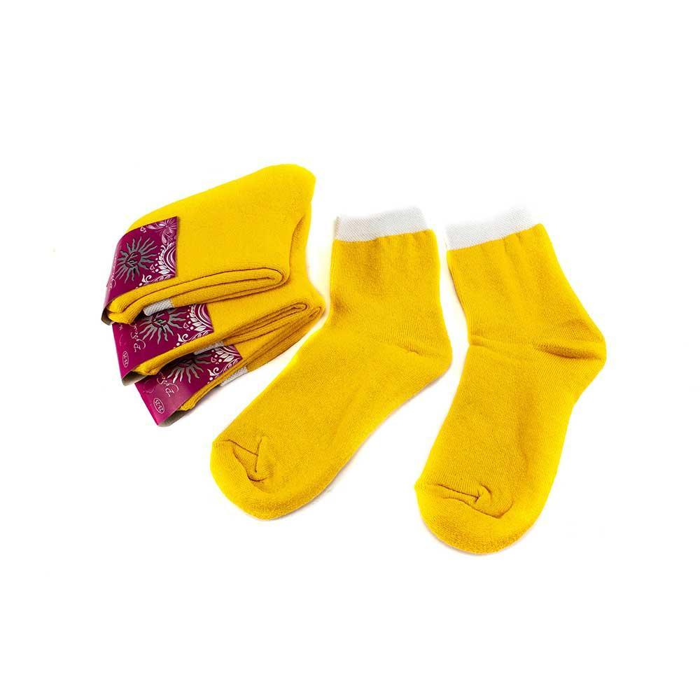 Шкарпетки жіночі Рубіж-Текс 100 жовті 36-39