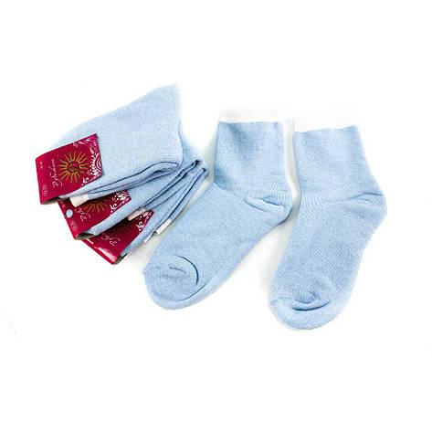 Носки женские Рубеж-Текс 100 голубые 36-39, фото 2