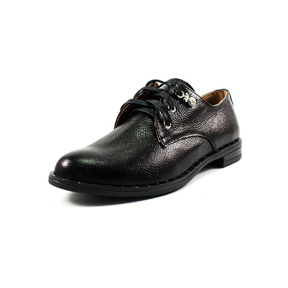 Туфли женские Camelfo 10-33Б черная кожа (36)