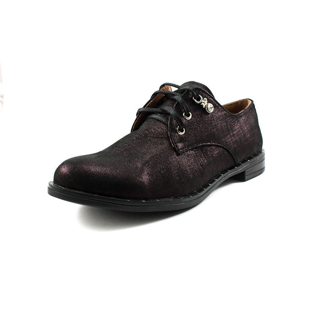 Туфли женские Camelfo 10-33Б бордовая замша (37)