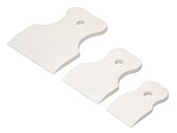 Набор резиновых шпателей эконом (3 шт.) для затирки