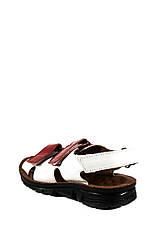 Сандалии для девочек TiBet 011-25-08 красно-белые (26), фото 2