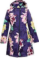 Плащ - пальто демисезонное 8-12 лет LUISA для девочки рост 128-152 ТМ HUPPA 12430010-91373