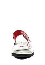 Сандалии для девочек TiBet 008-25-08 бело-красные (26), фото 3