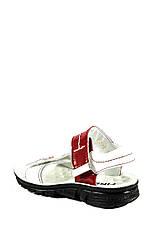 Сандалии для девочек TiBet 008-25-08 бело-красные (26), фото 2