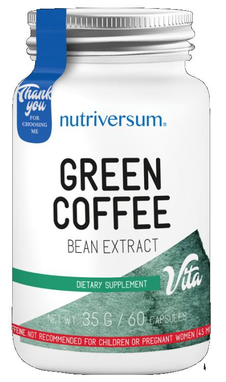 Жиросжигатель Nutriversum - Green Coffee (60 капсул)