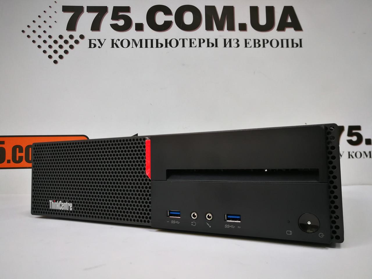 Компьютер Lenovo M700, Intel Core i3-6100 3.7GHz, RAM 4ГБ DDR4, SSD 120ГБ (SSHD 500ГБ), Windows 10 Pro