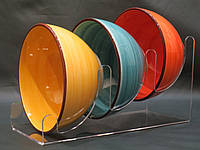 Подставка акриловая для тарелок, фото 1