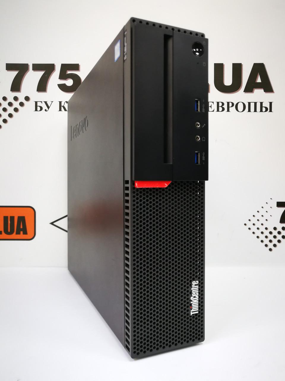 Компьютер Lenovo M700, Intel Core i3-6100 3.7GHz, RAM 8ГБ DDR4, SSD 240ГБ, Windows 10 Pro