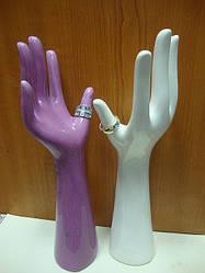 Подставка  для бижутерии РУКА (фиолетовая)