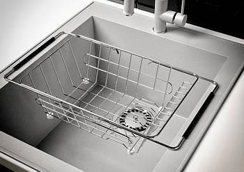 Моечная корзина MARIN для кухонной гранитной мойки, Распродажа Склада!