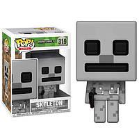 Фигурка Funko Pop Фанко Поп Майнкрафт Скелет MinecraftSkeleton10 см MС S 319