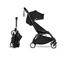Прогулочная коляска - BABYZEN YOYO² 6+, цвет Black на черном шасси