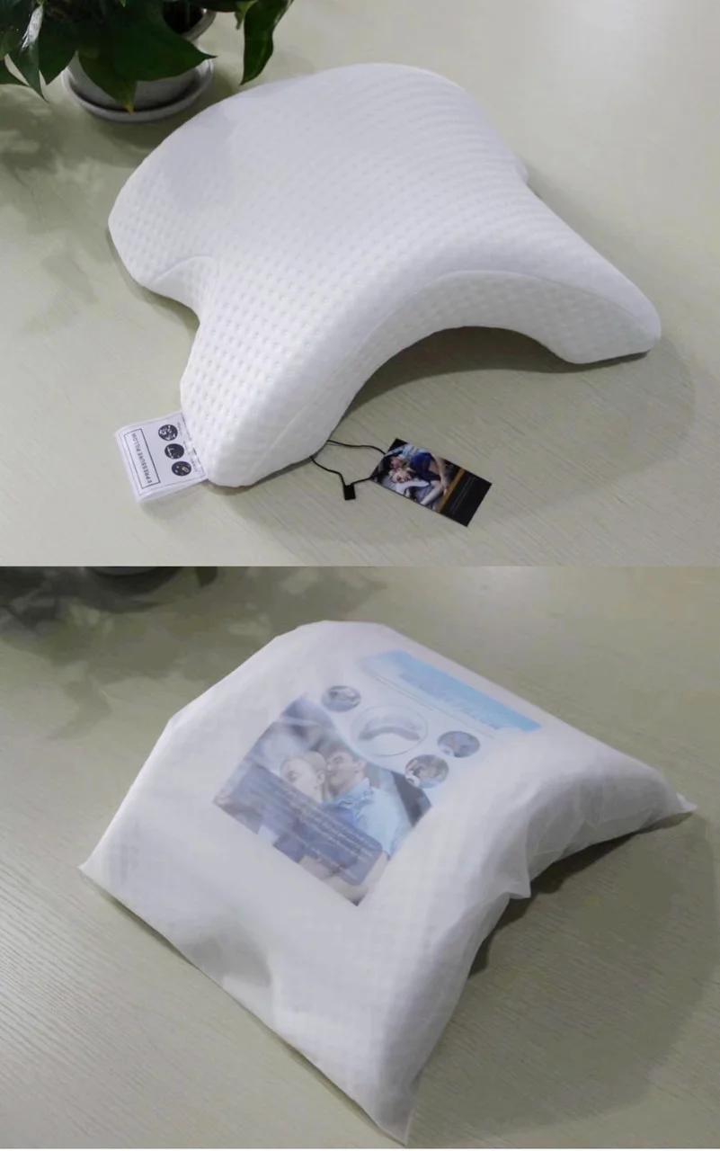 Подушка для шеи из пены с эффектом памяти изогнутая (WM-9)