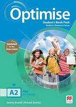 Optimise A2 Student's Book Pack (Updated for the New Exam 2019) / Учебник