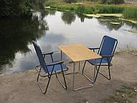 Складные столы и стулья, набор Комфорт ФП1+2-(Стол + 2 кресла)