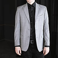 Мужской классический пиджак от Alessandro Gilles Шерсть 80%