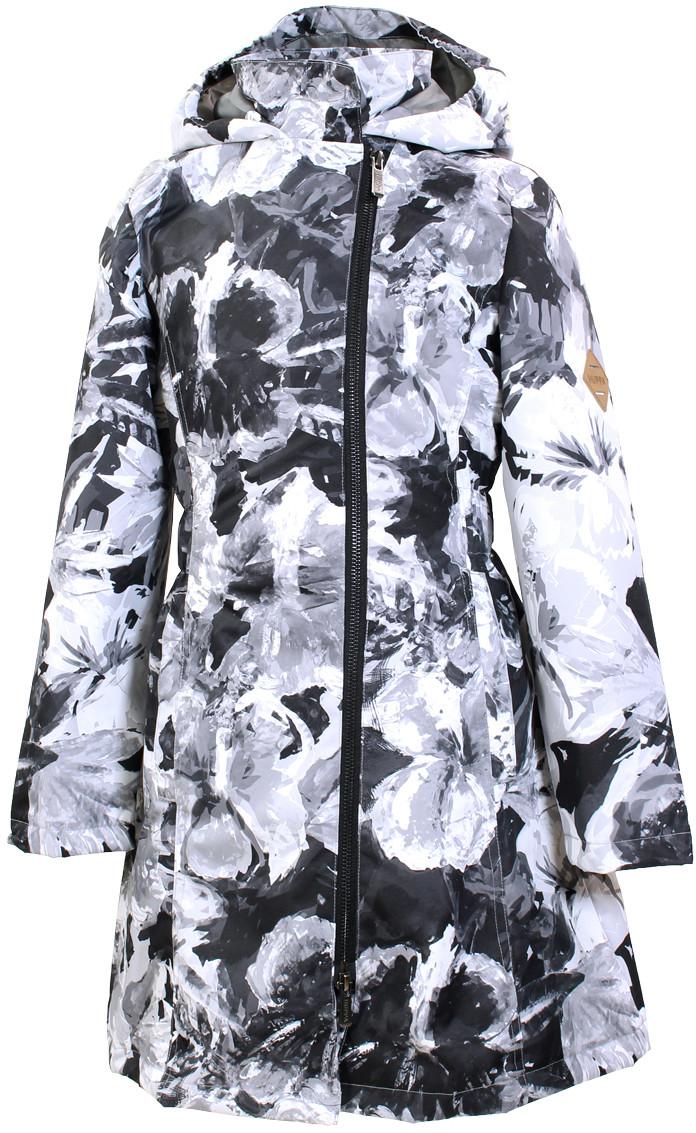 Плащ - пальто демисезонное 8-18+ лет LUISA для девочки рост 128-46, XS, S, M ТМ HUPPA 12430004-91109 128