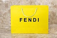Подарочный пакет FENDI 40*30*13 см