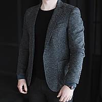 Мужской классический пиджак от Eugenio Sorrentino Трикотаж