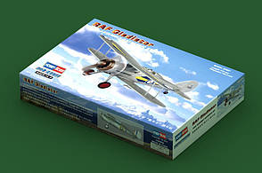 RAF Gladiator. Сборная модель самолета в масштабе 1/72. HOBBY BOSS 80289