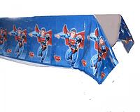 Скатерть праздничная Супергерои Супермен