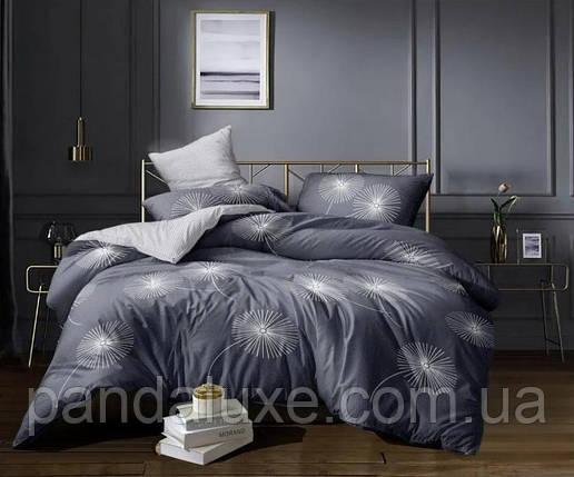 Постельное белье бязь голд, двуспальный семейный комплект Одуванчики большие, фото 2
