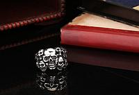 Мужское кольцо сталь 316L Черепа