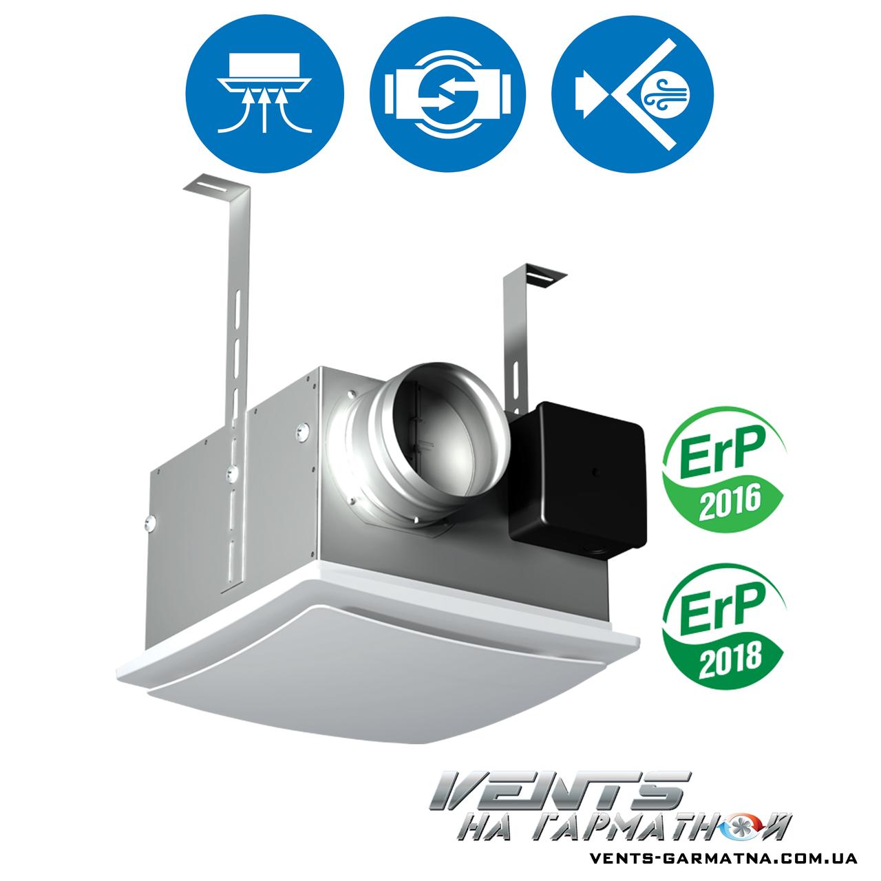 Вентс ВП 125 К. Центробежный потолочный вентилятор