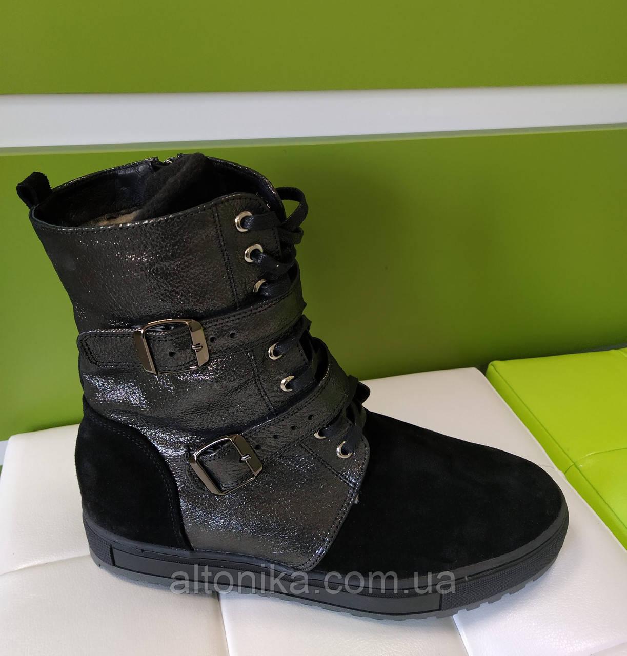 STTOPA 44р зима! Размеры 40-45!Ботинки высокие кожаные больших размеров! С9-31-4045-33-3345