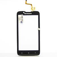 Сенсорный экран Touch screen Lenovo A328/ A328T black