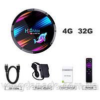 Налаштована TV приставка H96 max X3 4/32 ГБ (Смарт тв приставки на андроїд, TV Box x96 mini), фото 10