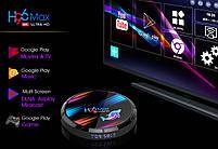 Налаштована TV приставка H96 max X3 4/32 ГБ (Смарт тв приставки на андроїд, TV Box x96 mini), фото 2