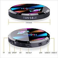 Налаштована TV приставка H96 max X3 4/32 ГБ (Смарт тв приставки на андроїд, TV Box x96 mini), фото 9