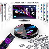 Налаштована TV приставка H96 max X3 4/32 ГБ (Смарт тв приставки на андроїд, TV Box x96 mini), фото 4
